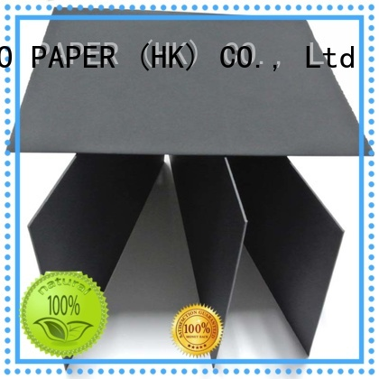 pulp Solid black board quality for gift boxes NEW BAMBOO PAPER