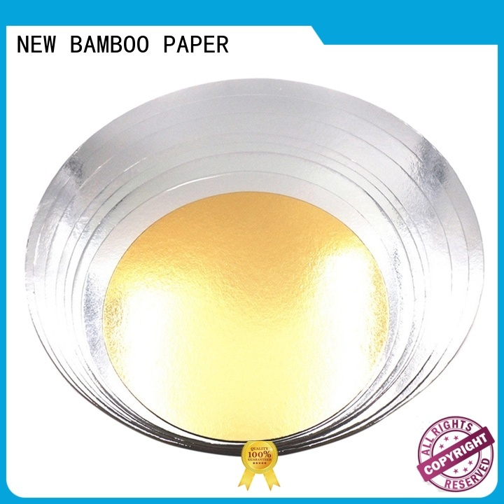 grey gold cake boards for pastry packaging NEW BAMBOO PAPER