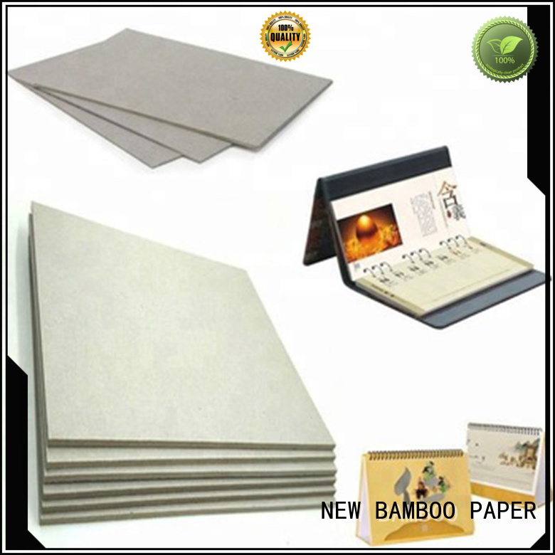 excellent 2mm grey board calendar from manufacturer for T-shirt inserts