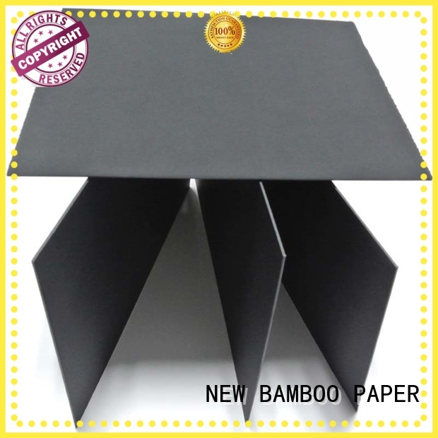 NEW BAMBOO PAPER fantastic black core board packaging for packaging