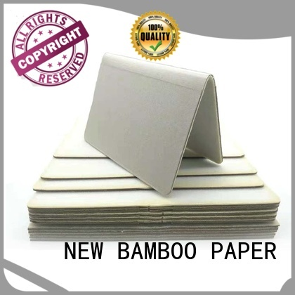 NEW BAMBOO PAPER good-package craft foam board factory price for shirt accessories