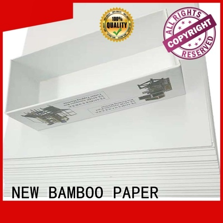 NEW BAMBOO PAPER white Grey board with white back long-term-use for printing industry