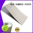 NEW BAMBOO PAPER customization pe coated paper sheet bulk production for packaging