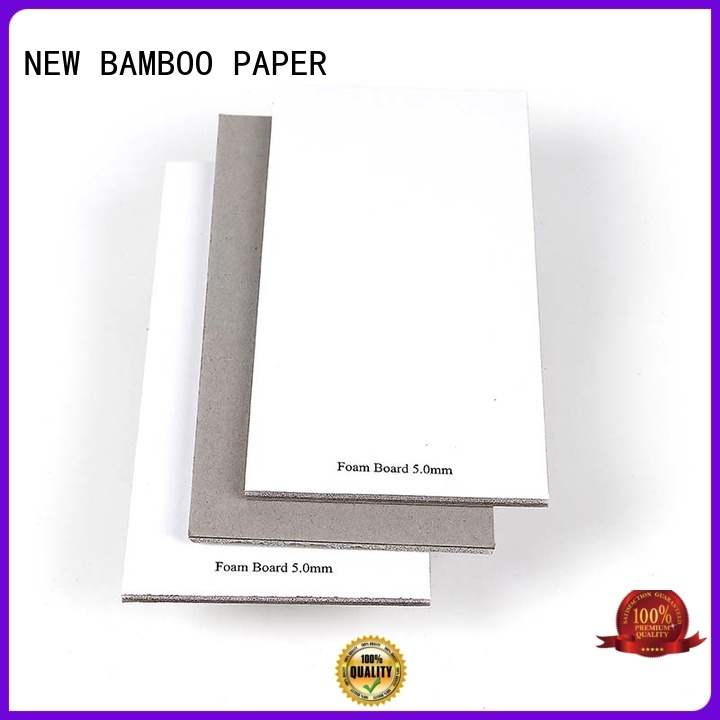 Notebook cover foam board 5.0mm good quality sponge laminated with grey board
