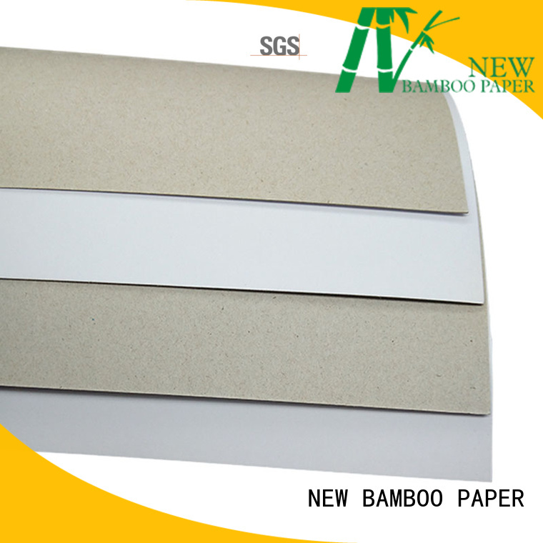 NEW BAMBOO PAPER package duplex board paper order now for cereal boxes