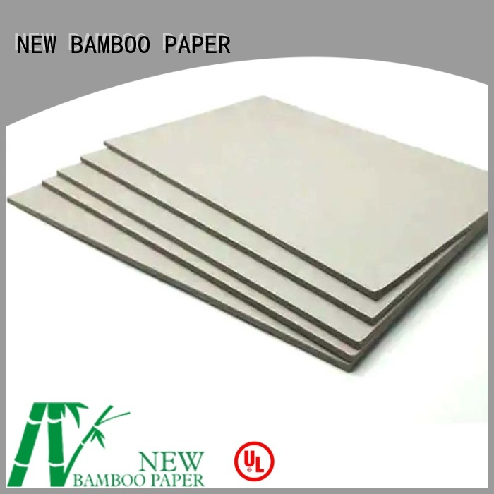 degradable gray paperboard bulk production for arch files