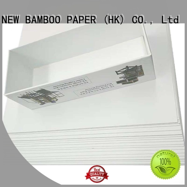 NEW BAMBOO PAPER new-arrival duplex cardboard bulk production for shoe boxes