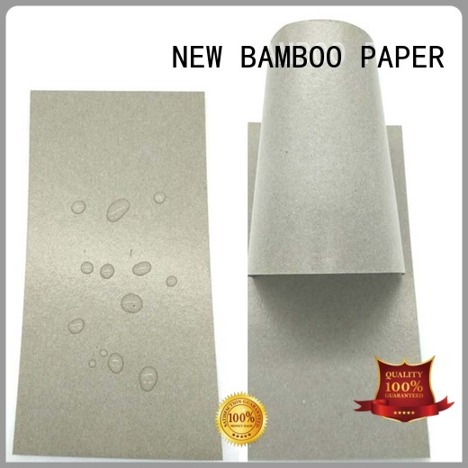 coated poly coated paperboard moisture for frozen food NEW BAMBOO PAPER