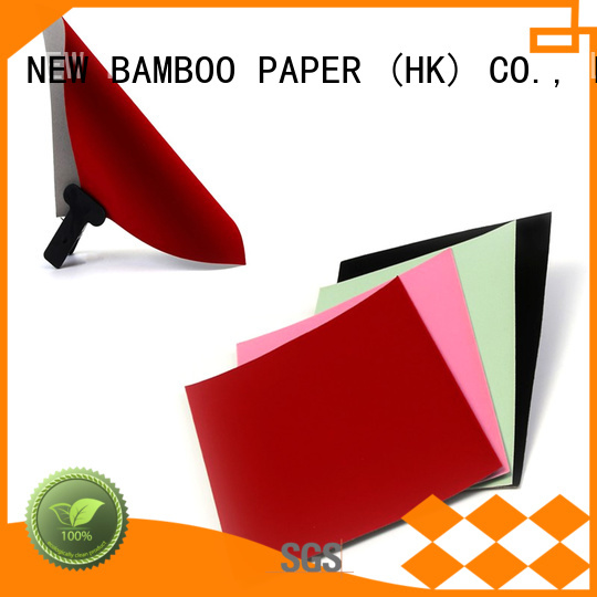 NEW BAMBOO PAPER industry-leading velvet cardboard sheets producer for decoration