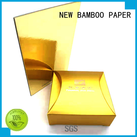 NEW BAMBOO PAPER best metallic foil board at discount for paper bags