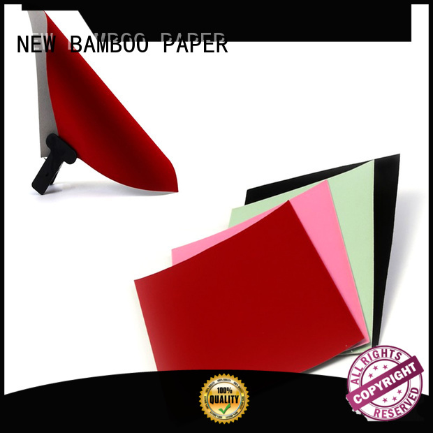 NEW BAMBOO PAPER hot-sale flocked velvet paper long-term-use for gift boxes