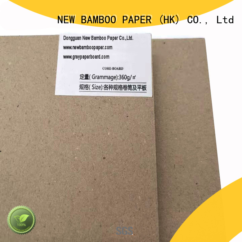 NEW BAMBOO PAPER newly gray chipboard at discount for arch files
