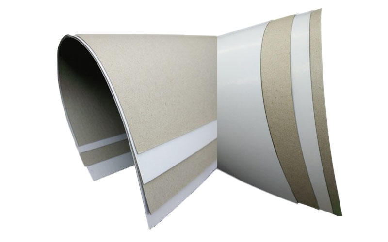 NEW BAMBOO PAPER back duplex board paper from manufacturer for box packaging-1