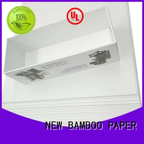 NEW BAMBOO PAPER best duplex paper board free design for printing industry