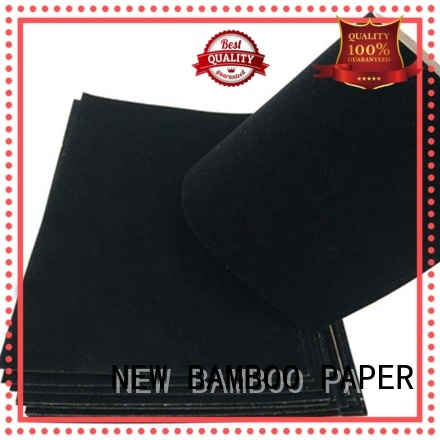 NEW BAMBOO PAPER cover flocking paper factory