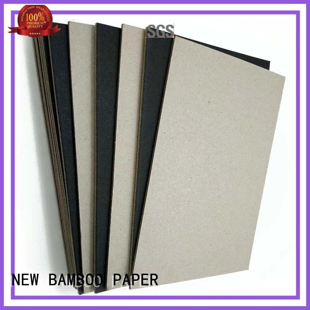 black backing paper board for booking binding NEW BAMBOO PAPER