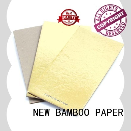 NEW BAMBOO PAPER back cake board foil paper from manufacturer for pastry packaging