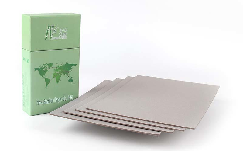 NEW BAMBOO PAPER reels grey board paper factory price for folder covers-3