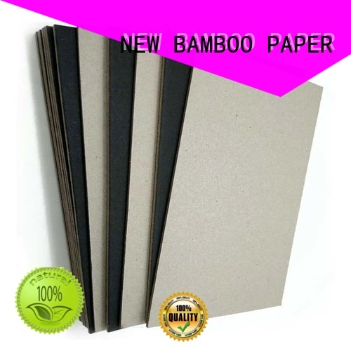 NEW BAMBOO PAPER safety black chipboard widely-use for photo frame