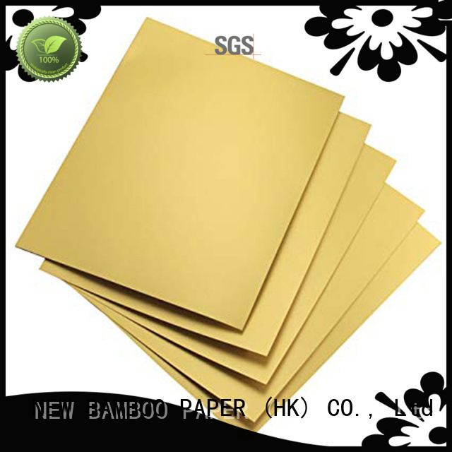 NEW BAMBOO PAPER gold gold cake boards from manufacturer for paper bags