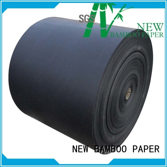 grade black cardboard sheets certifications for photo album NEW BAMBOO PAPER
