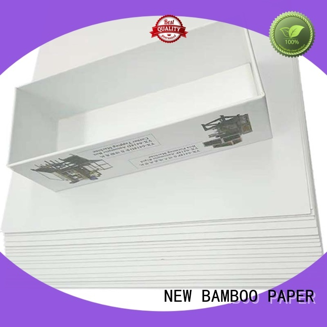 NEW BAMBOO PAPER duplex grey back duplex board bulk production for printing industry