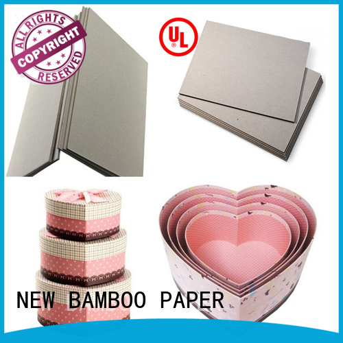 NEW BAMBOO PAPER book 2mm grey board at discount for folder covers
