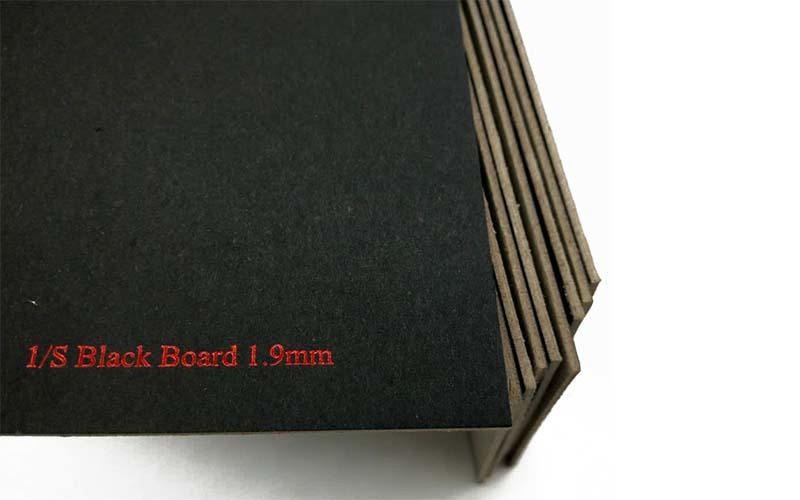 NEW BAMBOO PAPER new-arrival black chipboard free quote for shopping bag-2