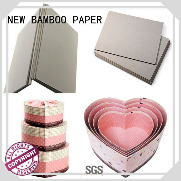NEW BAMBOO PAPER exercise 2mm grey board inquire now for desk calendars
