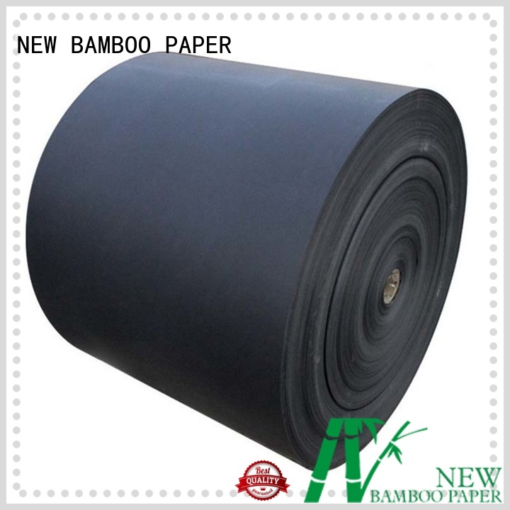 NEW BAMBOO PAPER solid black backing board long-term-use for speaker gasket
