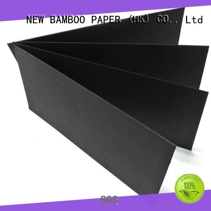 quality black paper board cardboard wholesale for photo frames