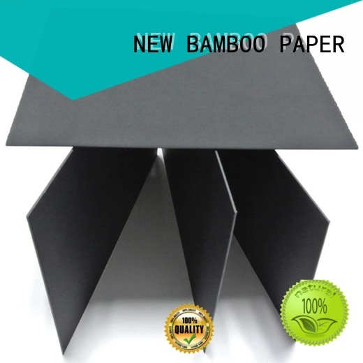 NEW BAMBOO PAPER useful black paperboard for paper bags