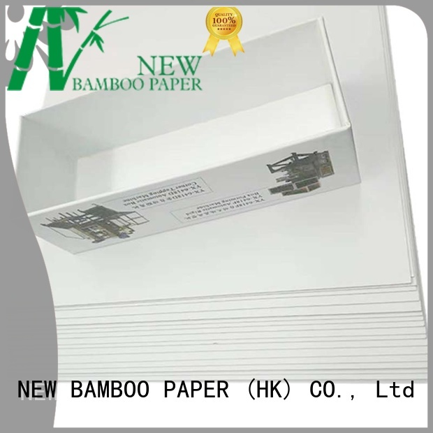 NEW BAMBOO PAPER best duplex grey board one for printing industry