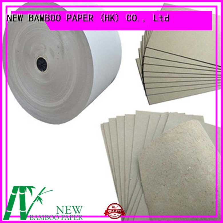 NEW BAMBOO PAPER layer grey board sheets buy now for packaging