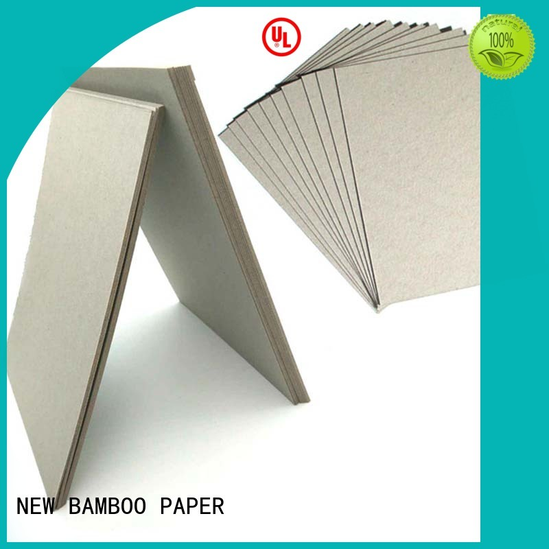 NEW BAMBOO PAPER newly grey board paper for boxes