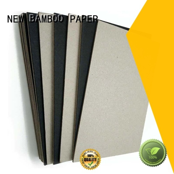 NEW BAMBOO PAPER nice thick black cardboard free design for gift box