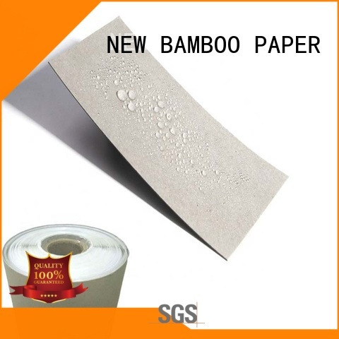 double pe coated paper sheet free design for waterproof items NEW BAMBOO PAPER