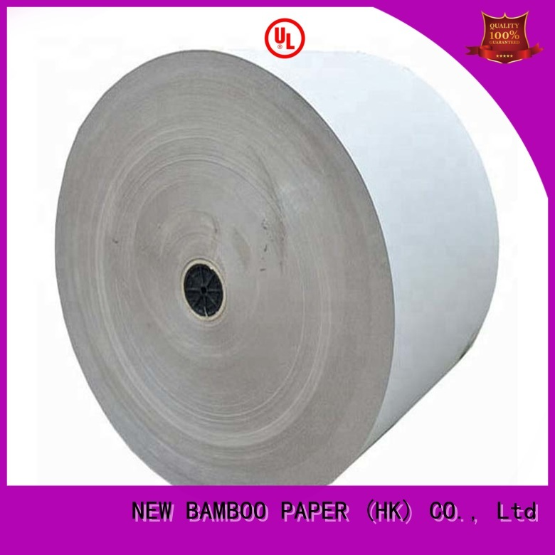 exercise grey paperboard bulk production for packaging NEW BAMBOO PAPER