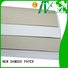 NEW BAMBOO PAPER useful duplex paper board order now for cloth boxes