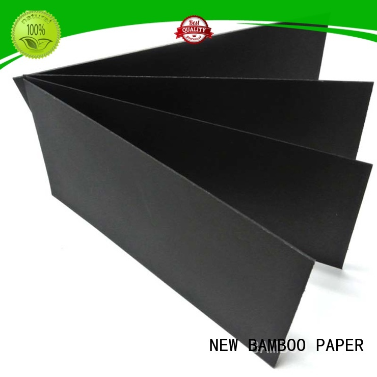 NEW BAMBOO PAPER useful black paper roll producer for photo frames