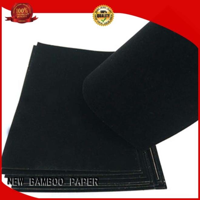 pape flocked velvet paper cover for stationery NEW BAMBOO PAPER