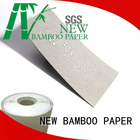 NEW BAMBOO PAPER proof one side pe coated paper price supply for waterproof items