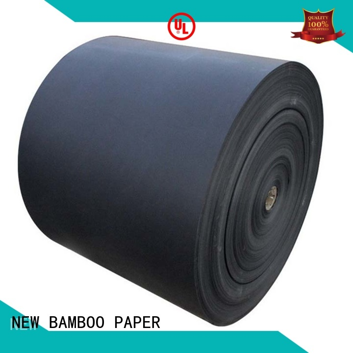 NEW BAMBOO PAPER useful black cardboard sheets bag for photo album