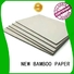 material grey board paper for wholesale for hardcover books NEW BAMBOO PAPER