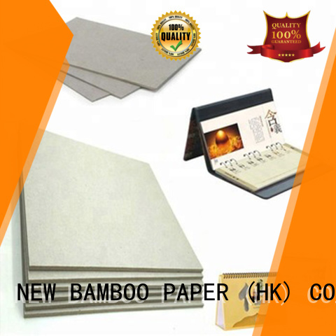 NEW BAMBOO PAPER uncoated carton gris factory price for packaging