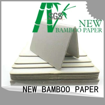 NEW BAMBOO PAPER cover 3mm foam board for wholesale for stationery