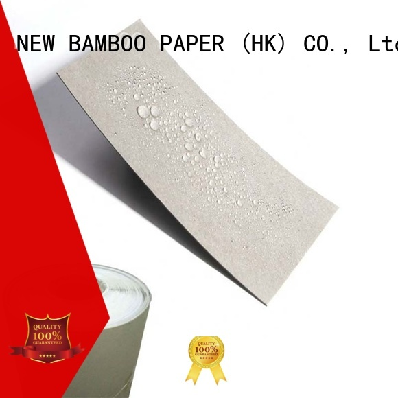 pe coated paper price double for waterproof items NEW BAMBOO PAPER