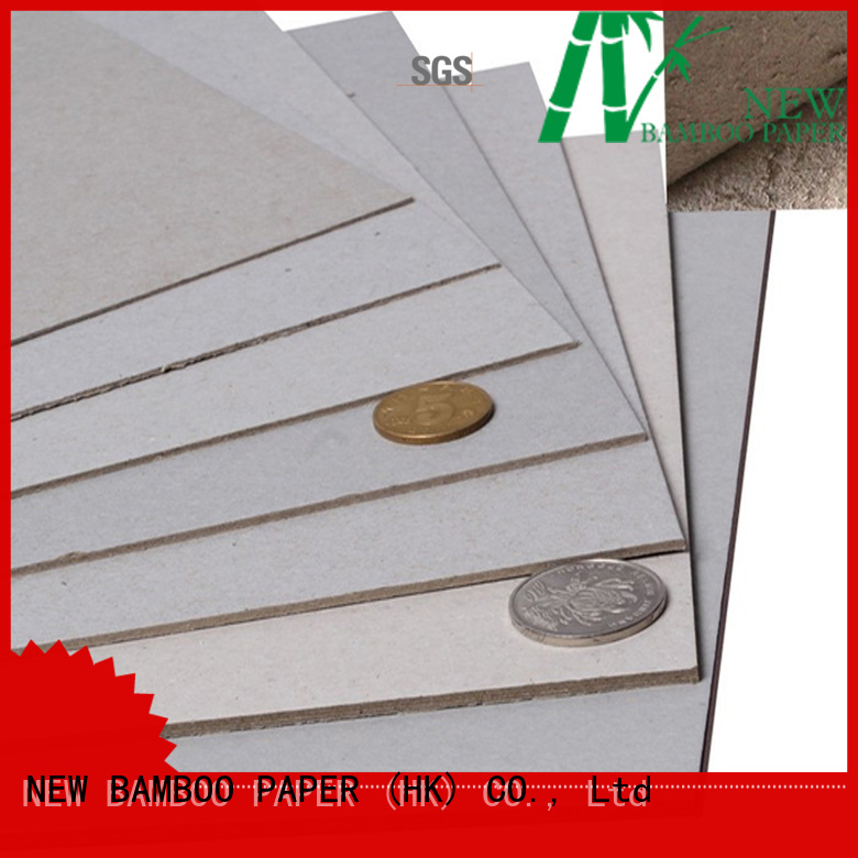 NEW BAMBOO PAPER cover grey chipboard buy now for boxes