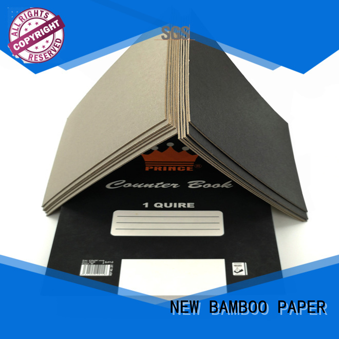 NEW BAMBOO PAPER reels black cardboard for hang tag