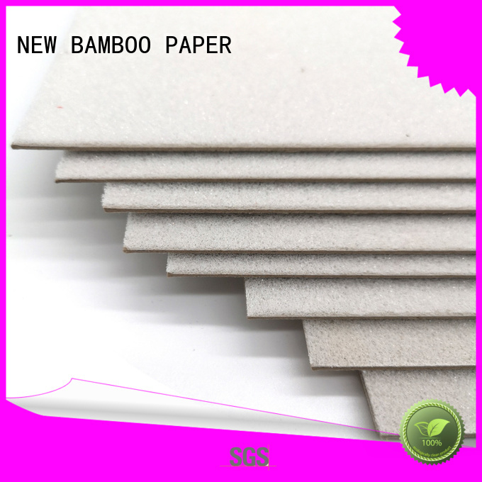 NEW BAMBOO PAPER one foam board factory price for hardcover books
